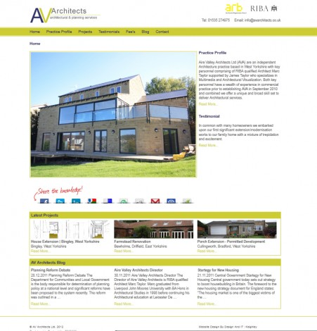 AV Architects - Home Page