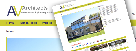 AV Architects Website