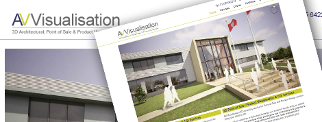 AV Visualisation Website